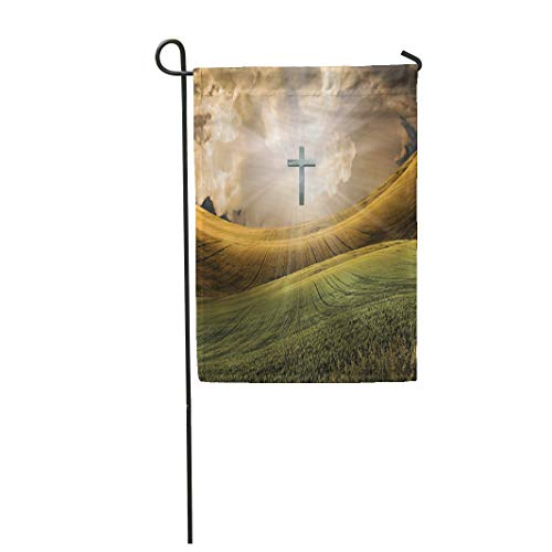Semtomn Garden Flag 28x40 Inches Print On Two