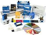 Zebracard 104523-116 CR-80 Premier PVC Blank Card, 30 mil, White (Box of 500) (Pack of 500)