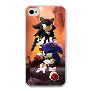 Game boy Sonic The Hedgehog G6K2JS0Y Caso funda iPhone 4 4s Caso funda del teléfono celular blanco