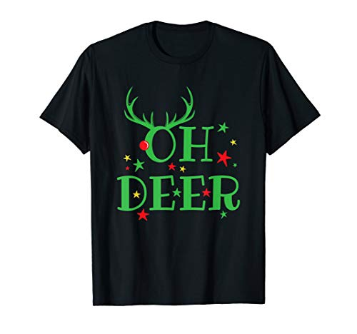Oh Deer Pun Costumes - Oh Deer Funny Christmas Pun Dear