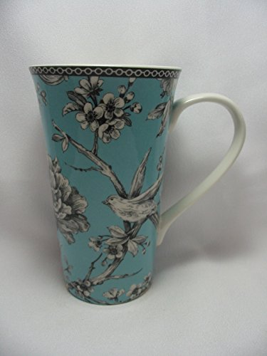 222 Fifth Adelaide Turquoise Porcelain Coffee Tall Latte Cup