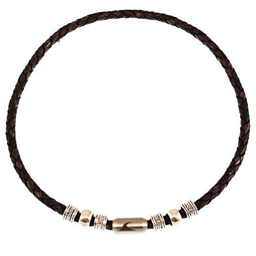 9090b6503dfa Original wavepirate® Piel Collar Charm F Marrón De alta calidad ...