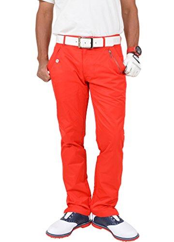 【コモンゴルフ】 COMON GOLF サテン仕様 スリット入り ストレッチ ゴルフ パンツ CG-82406