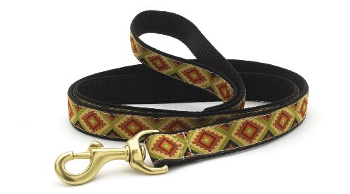 Up Country Navaho Dog Lead - 6 ft Length - 1 In Width