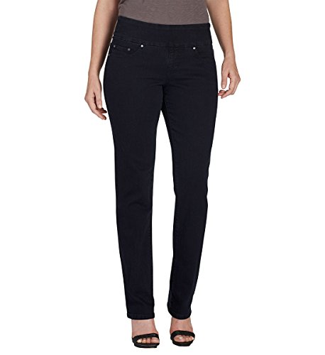 Jag Jeans Women's Peri Pull-On Straight Leg Jean in Comfo...