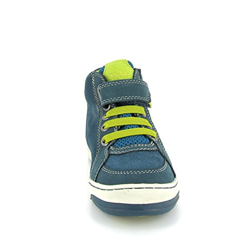 LurchiBarney-Tex - Zapatillas Niños petrol/neon apple