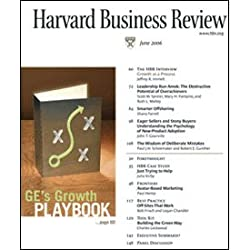 Harvard Business Review, June 2006