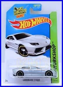 2014 Hot Wheels Hw Workshop   Lamborghini Estoque   Silver [Ships In A Box!