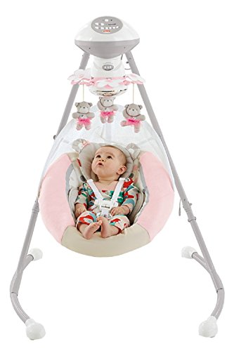 Fisher-Price My Little Snugabear Ballerina Cradle 'N - Little Bassinet