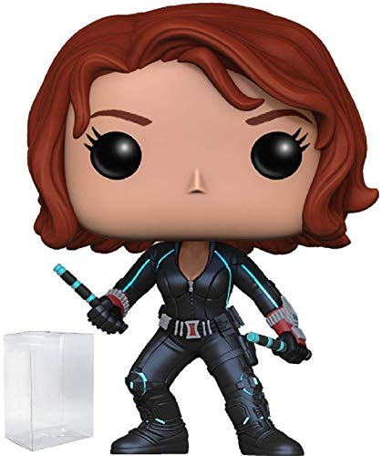Marvel: Avengers 2 Age of Ultron - Black Widow Funko Pop! Vinyl Figure (Includes Compatible Pop Box Protector -