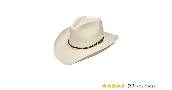 262d9e90c23 Stetson SSDIAJK4034 Diamond Jim Hat at Amazon Men s Clothing store  Cowboy  Hats