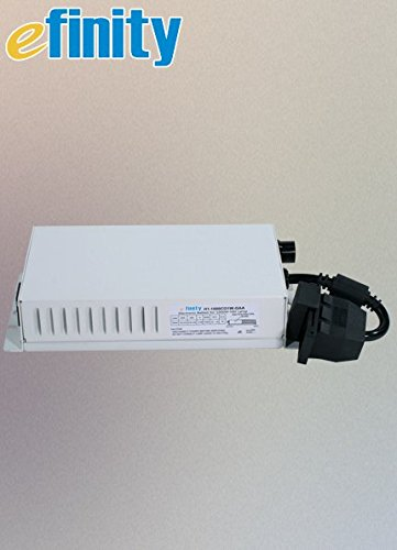 eFinity Mini 1000W 120V/240V Digital Dimmable Electronic Ballast 600W/750W/1000W, Compatible with MH Hps Double/Single End Grow Light Bulb