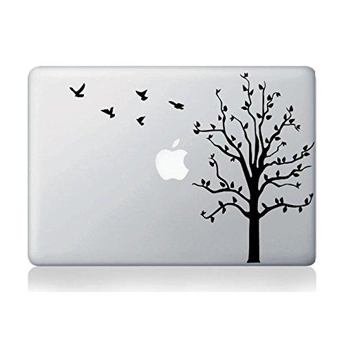 Echohc Tree Pattern-DIY Personality Vinyl Decal Sticker for Apple MacBook Pro/Air 13 Inch Laptop Case Cover Cartoon Skin Sticker
