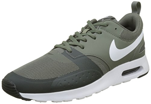 NIKE Herren Air Max Vision Mesh Trainer River Rock / White-Outdoor Grün