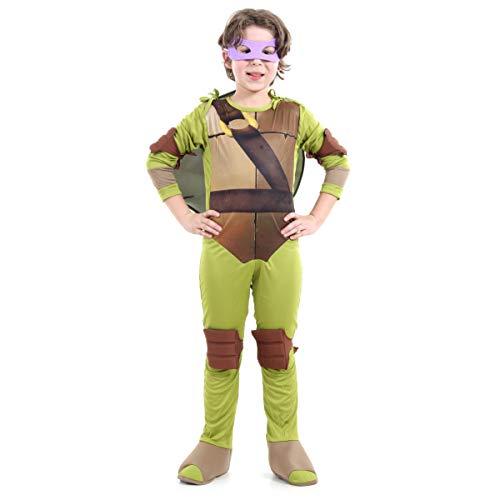 Fantasia Tartarugas Ninjas Donatello Infantil Sulamericana Fantasias G 10/12 Anos