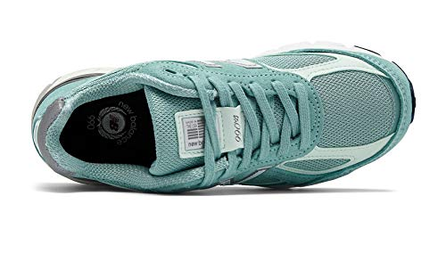 New Balance Men's 990v4, Green/White 7 D US by New Balance (Image #2)