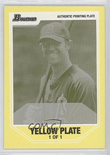 Trevor Pippin #1/1 (Baseball Card) 2007 Bowman Draft Picks & Prospects - Prospects - Printing Plate Yellow Framed #BDPP5