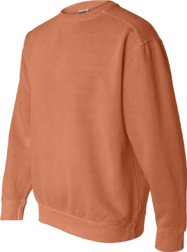 Chouinard Comfort Colors Pigment-Dyed Crewneck Sweatshirt 1566 XL Burnt Orange
