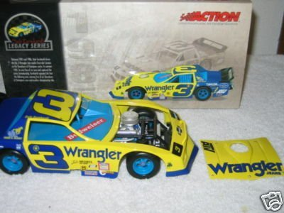 (Dale Earnhardt Sr #3 Historical Series Wrangler Jeans Blue & Yellow 1985 Camaro Outlaw Late Model Xtreme Showdown Of Champions Series Action Racing Collectibles 1/24 Scale Limited Edition )