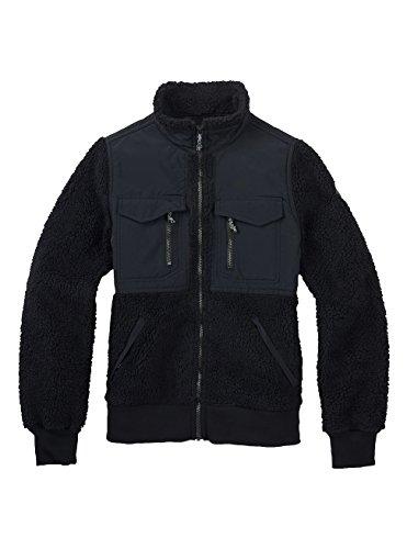 Burton Bolden Full-Zip Fleece, True Black, X-Large