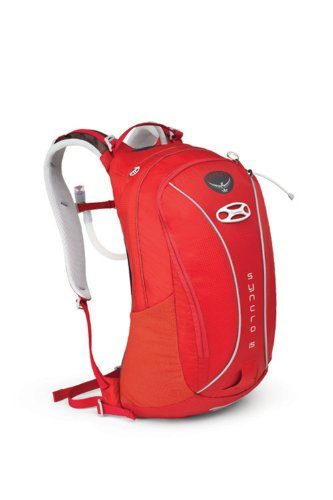 Osprey Packs Syncro 15 Hydration Pack with Reservoir (Pyro Red, Medium/Large), Outdoor Stuffs