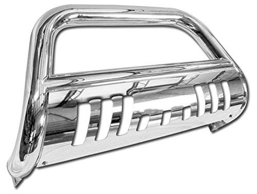 Stainless Steel Front Bumper Bull Bar Guard (Chrome) For 2004-2015 Nissan Titan All Models; 2004/2005-2015 Nissan Armada All Models