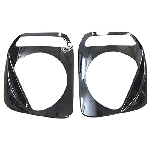 - TOOGOO 1 Pair Car Headlight Lampshade Shield Protective Decorative Baffle Headlight Lampshade Trim for Suzuki Jimny 2007-2015 Black