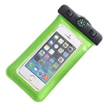 Compass Water Proof Diving Bag For iphone4 4s 5 5s Portable Outdoor WaterProof Pouch ( Color : Green )