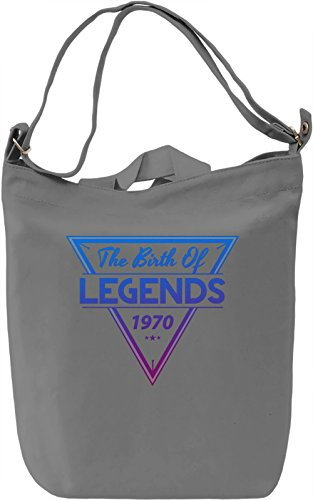 1970 The Birth Of Legends Borsa Giornaliera Canvas Canvas Day Bag| 100% Premium Cotton Canvas| DTG Printing|