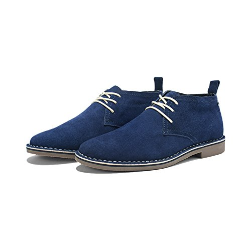 Men's Casual and Classic Suede Leather Lace Up Oxford Shoes Desert Storm Chukka Boot