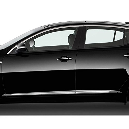 UD Clear White Dawn Enterprises FE-SPORT17 Finished End Body Side Molding Compatible with Kia Sportage