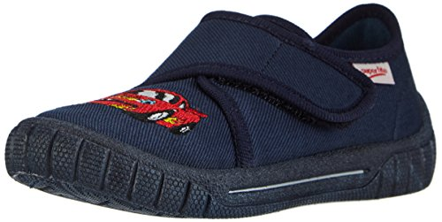 Superfit BILL - pantuflas de lona niños azul - Blau (OCEAN MULTI 83)