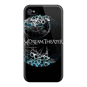 Iphone 4/4s EDV15248cimU Support Personal Customs Fashion Dream Theater Band Skin Excellent Hard Cell-phone Case -EricHowe