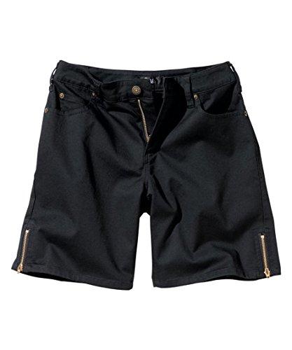 誕生日ペンダント期限[nissen(ニッセン)] ストレッチ裾ファスナーショートパンツ(ゆったりヒップ) 大きいサイズ レディース
