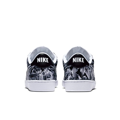 Nike W Tennis Classic Print, Zapatillas de Deporte para Mujer, Negro (Black/Black-White), 36 EU
