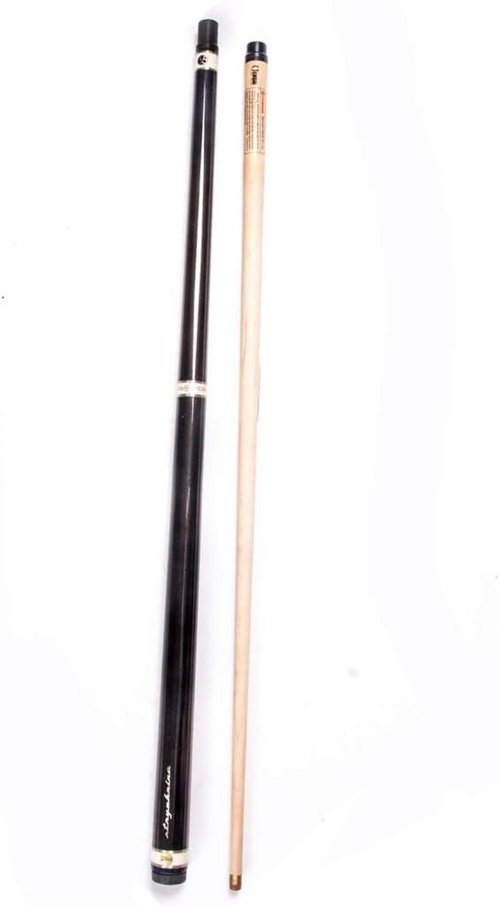 ZXH 57インチ手作り1/2接合メープル広葉樹プールキュー21オンス9.8ミリメートルヒントスヌーカーキュー