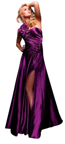 Tony Bowls Prom Dress 111713, Purple, 14