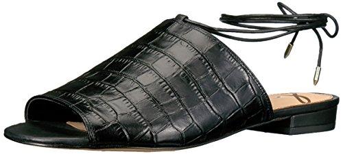 Sam Edelman Tai Sandal Black Crocodile