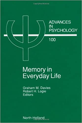 Gratis online nedlasting Memory in Everyday Life, Volume 100 (Advances in Psychology) 0444889973 in Norwegian PDF CHM ePub