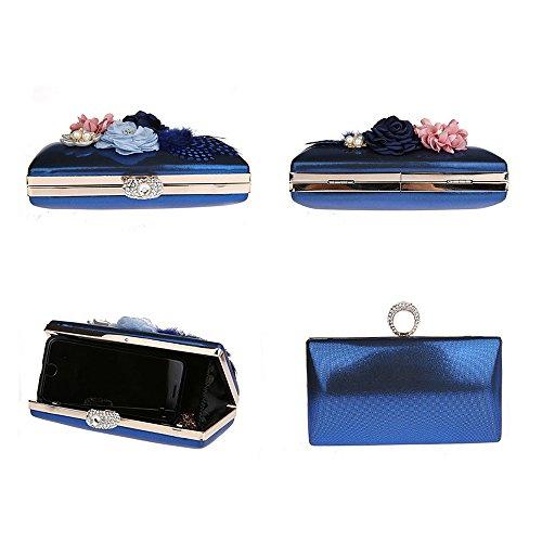 Cruzados Para Azul De Jin Pvc Mujer Bolso Ya ExfP4wqW