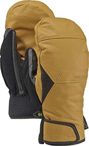 Burton Gondy Gore-Tex Leather Mitts, Raw Hide, (Burton Leather Glove)