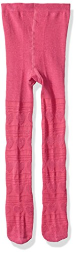 The Children's Place Baby Girls' Heart Knit Tights, GLAMOROUS, 12-24MONTH