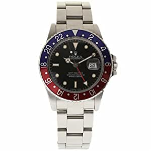 Rolex GMT Master swiss-automatic mens Watch 16750 (Certified Pre-owned)