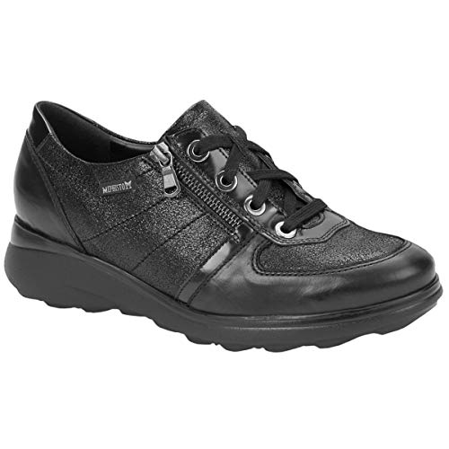 Leather 7800 Womens 4 Black J4182 Jill Mephisto Shoes ZqnftW