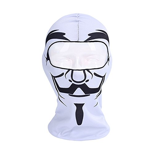 Mask Cool Face Halloween Party Motorcycle Cycling Breathable Skull Mask