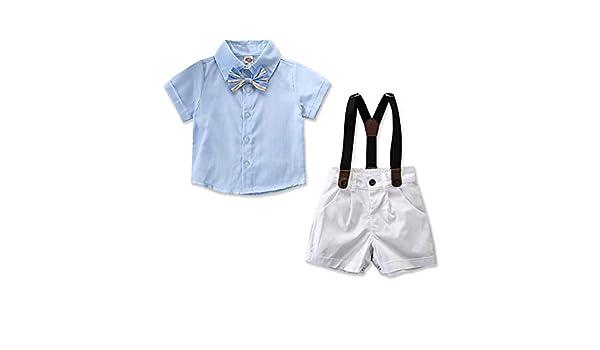 Camisa de Corbata con Lazo de Caballero para niño pequeño + ...