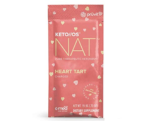 Pruvit Keto//OS NAT Heart Tart Charged (5 Single Server Packets)