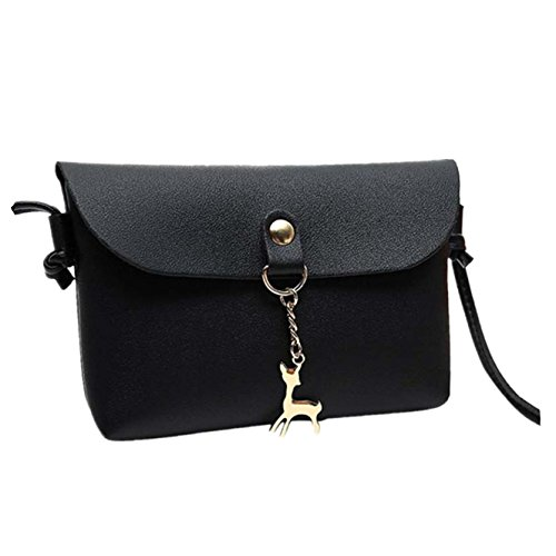 Body Pendant Yuan Handbag Women Black Deer Shoulder Small Bags Bag Cross 00Eqwp4