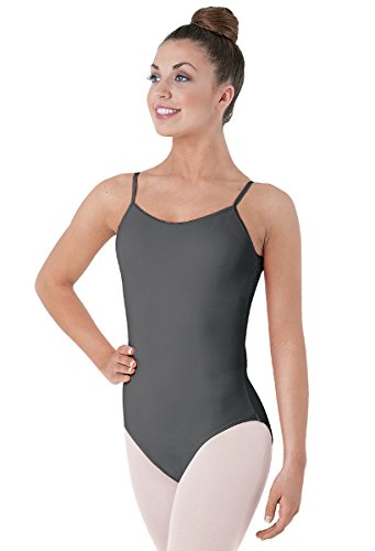 - Balera Camisole Dance Leotard Low Back Gray Adult Small
