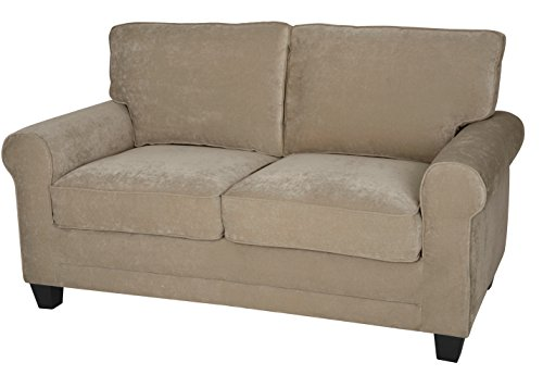 "Serta Deep Seating Copenhagen 61"" Loveseat in Beige -  - sofas-couches, living-room-furniture, living-room - 41sdwWKo%2BtL -"